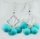 Wholesale earring-turquoise earrings
