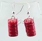 Wholesale earring-coral earrings