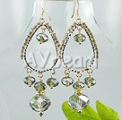 Wholesale earring-czech crystal earrings