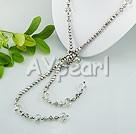 pärla tjeckiska kristaller halsband