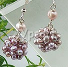 Wholesale earring-pearl earrings