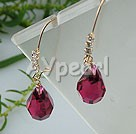 austrian crystal earrings