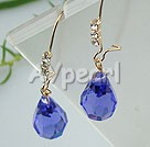 Wholesale earring-austrian crystal earrings