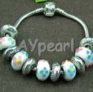 pandora colored glaze bracelet