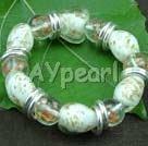 coloured glaze bracelet