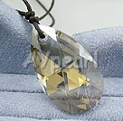 Wholesale austrian angel's tear crystal pendant