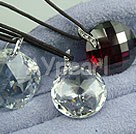 Wholesale Austrian Jewelry-zircon pendant(3 pieces)