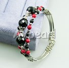 Wholesale Gemstone Jewelry-black agate alaqueca bracelet