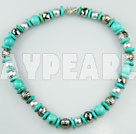 Wholesale assorted turquoise and shell beads necklace
