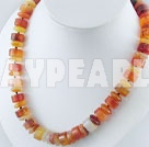 Wholesale agate necklace