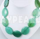blå jade halsband