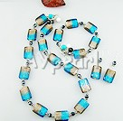 Set jewelry :  jewelryhandcrafted jewellerywholesale shellwholesale turquoisewholesale