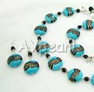 Wholesale black crystal colored glaze sets