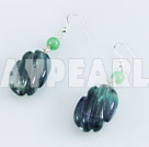 Wholesale rainbow fluorite earring