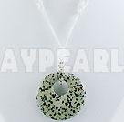 Wholesale leopard skin stone pendant