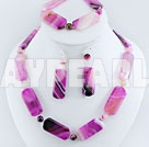 Wholesale dyed agate set