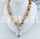 yellow gem necklace