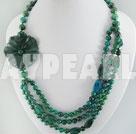 phenix stone black stone necklace