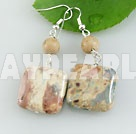 Wholesale picture jasper earring