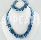 sea blue crystal set