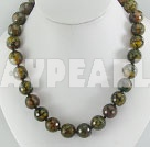 fected agate necklace