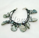 Wholesale pearl shell bracelet