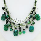 Gemstone necklace :  discount necklace fashion gemstone necklace handmade gemstone necklace natural gemstone necklace