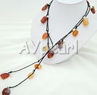 Wholesale pearl agate necklace