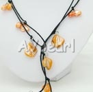 Wholesale pearl shell necklace