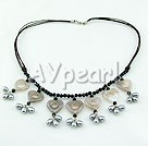 Wholesale pearl and agate necklace