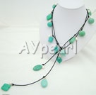 pearl turquoise necklace