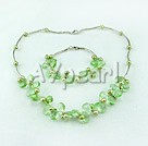 Wholesale pearl manmade crystal set