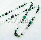 phenix stone black stone necklace