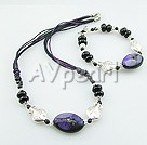 Wholesale Gemstone Jewelry-Dyed botswana Agate set