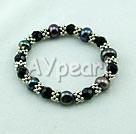 Black Pearl kristall armband