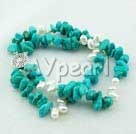 Wholesale pearl turquoise bracelet