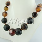 Wholesale Gemstone Jewelry-agate necklace