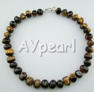 Wholesale Gemstone Jewelry-tiger eye necklace