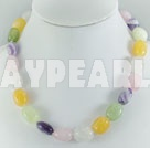Wholesale Gemstone Jewelry-multi-stone necklace