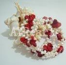 Wholesale Pearl Coral Bracelet