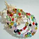 Wholesale synthetic crystal bracelet