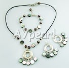 pearl shell set