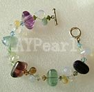 Wholesale Rainbow fluorite bracelet