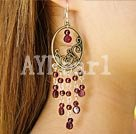 Wholesale garnet earring