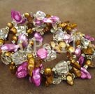 pärla kristall armband