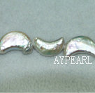Moon shaped freshwater pearl beads