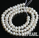 Freshwater Pearl Beads, Natural White, 4-5mm, Sold per 14.6-Inch Strand,4-5mm