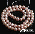Freshwater Pearl Beads, Natural Purple, 7-8mm, Sold per 15-Inch Strand
